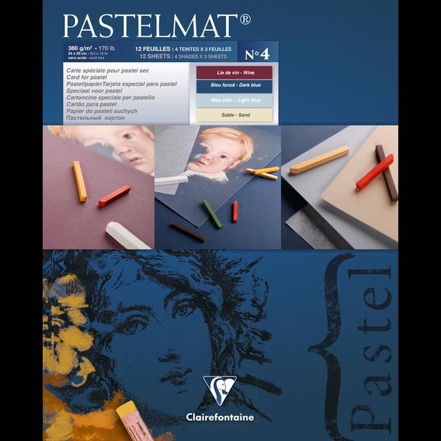 PASTELMAT 360g PASTEL PAPER PAD No.4 - 24x30cm