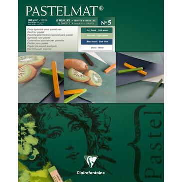 PASTELMAT 360g PASTEL PAPER PAD No.5 - 24x30cm
