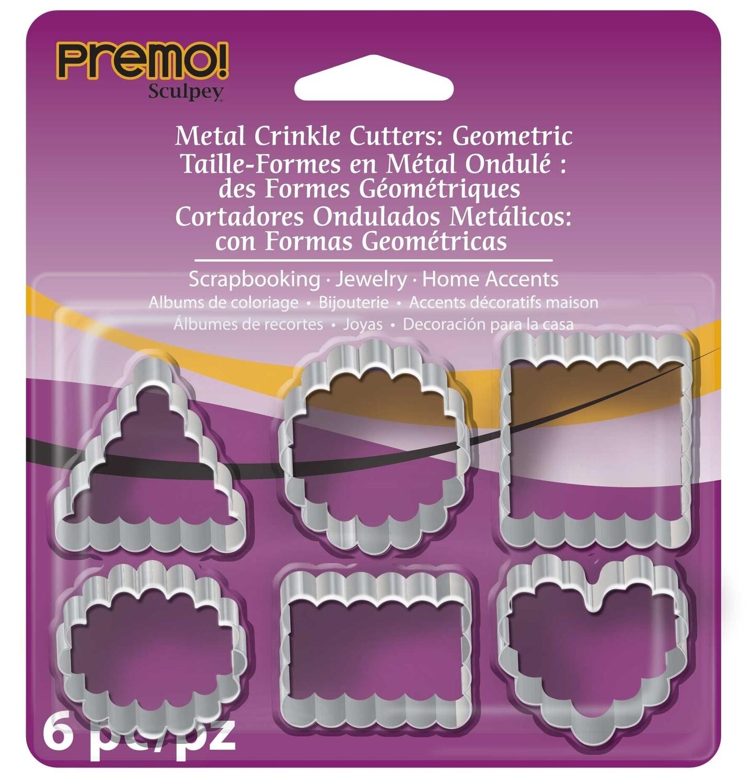 Premo Sculpey® Metal Crinkle Cutters - Polymer Clay