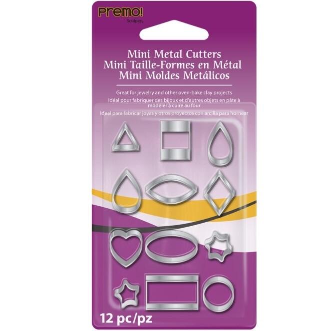 Premo Sculpey® Mini Metal Cutters: Geometric