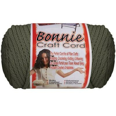 Bonnie Macrame Craft Cord 4mm - Smoke Grey (100yds)