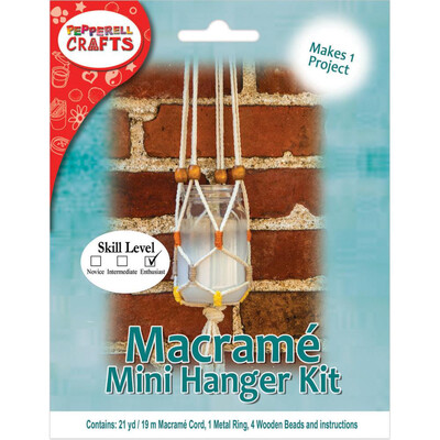 Mini Macrame Hanging - Plant Hanger