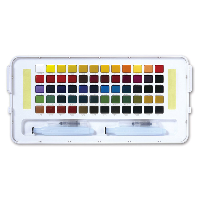 Koi Watercolour Field Box - 60 Assorted