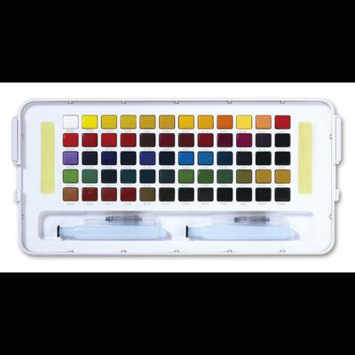 Koi Watercolour Field Box - 60 Assorted