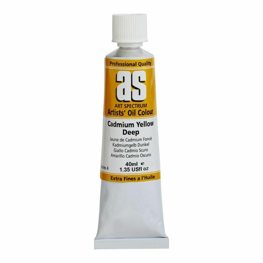 Art Spectrum® Artists' Oil Colour Cadmium Yellow Deep - Series 4