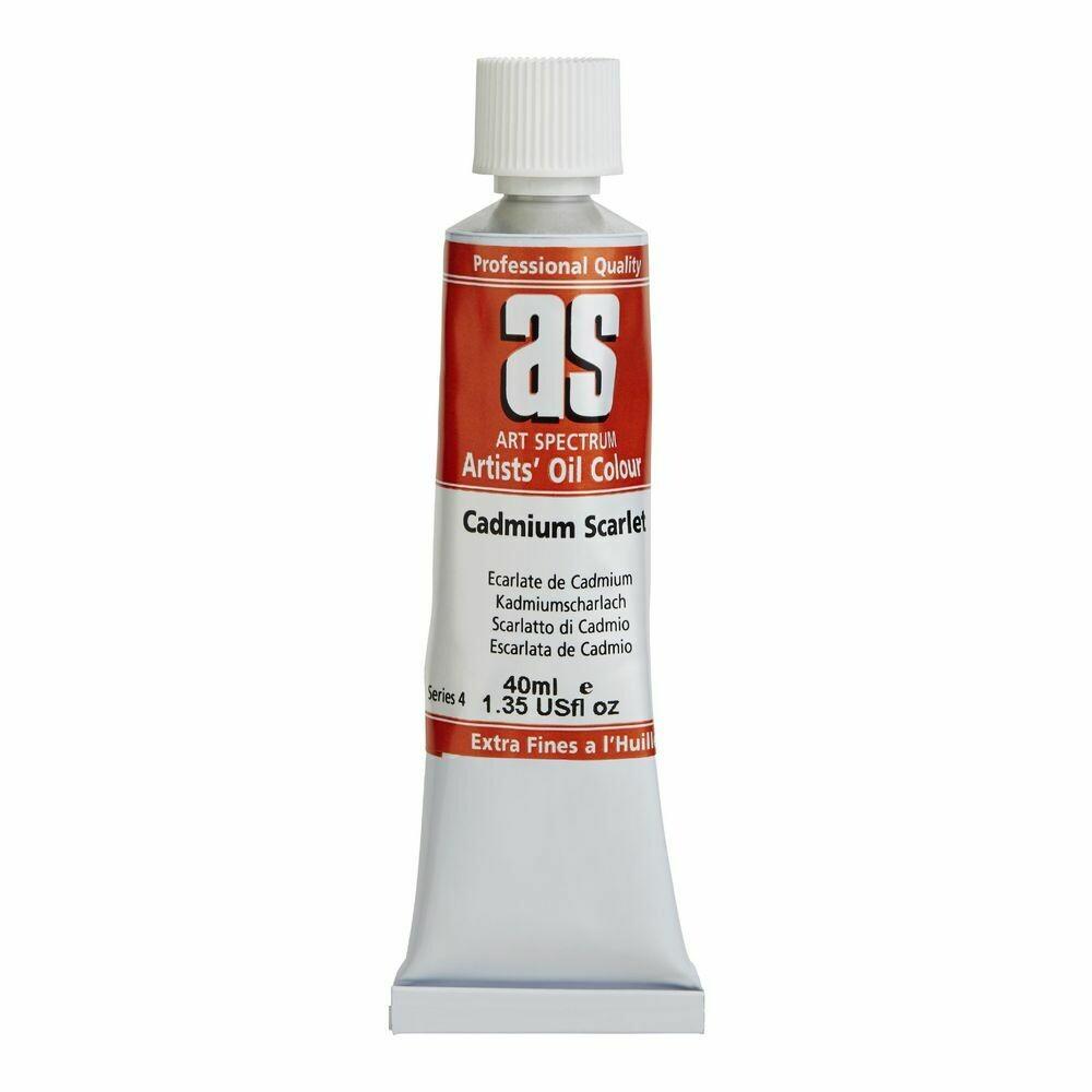 Art Spectrum® Artists' Oil Colour Cadmium Scarlet - Series 4