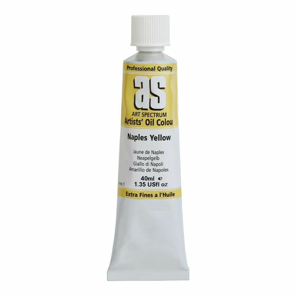Art Spectrum® Artists' Oil Naples Yellow - Series 1