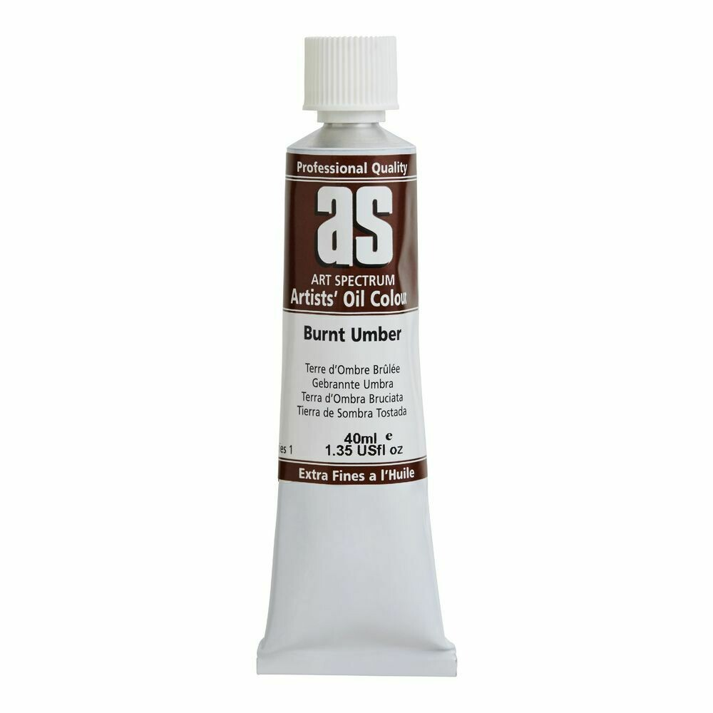 Art Spectrum® Artists' Oil Burnt Umber - Series 1