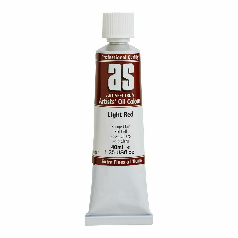 Art Spectrum® Artists' Oil Light Red - Series 1
