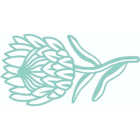 Decorative Die - Protea