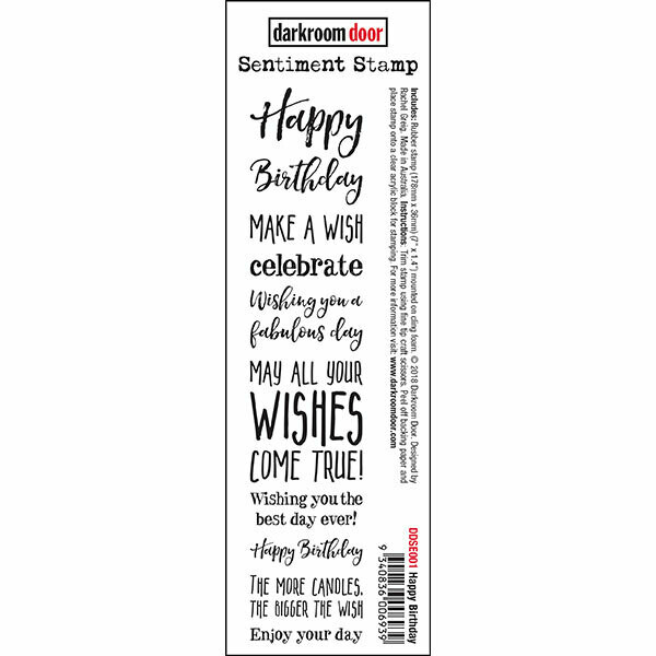 Sentiment Stamp - Happy Birthday
