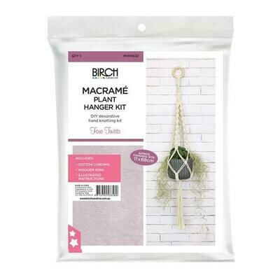 Macrame Wall Hanging Kit - Four Twists