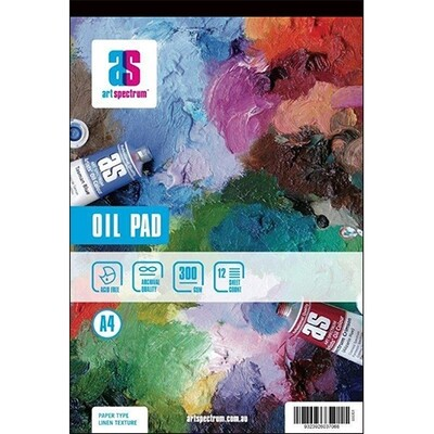Art Spectrum® Oil Paper Pad A4