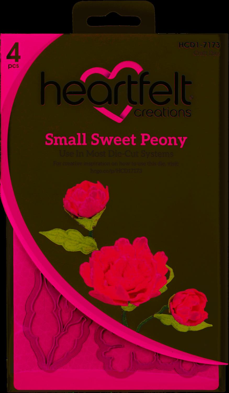 Small Sweet Peony Die