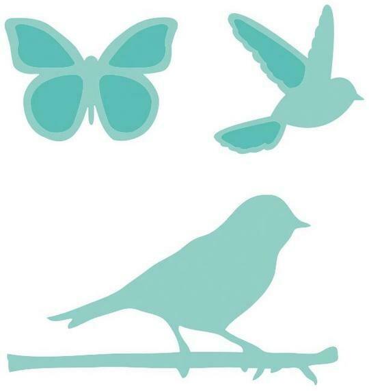 Birds & Butterflies die