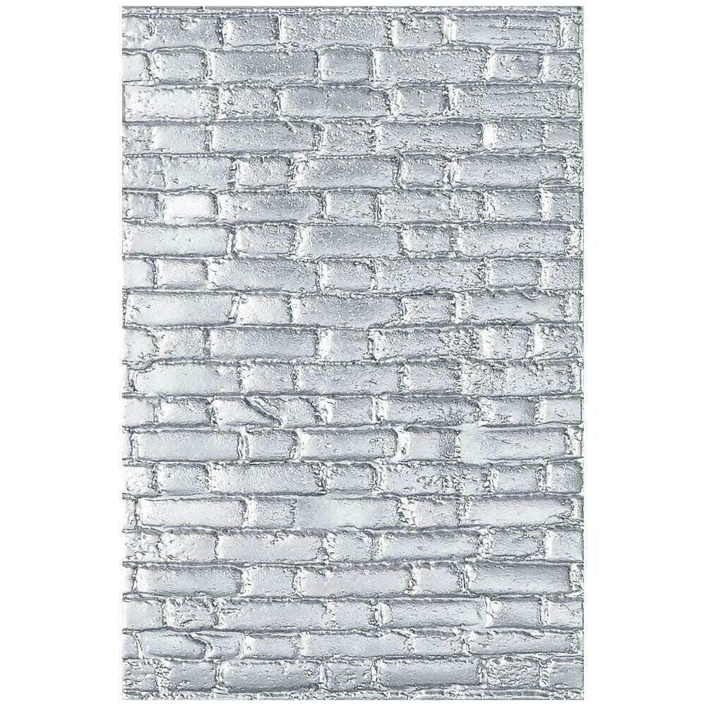 3-D Texture Fades Embossing Folder - Brickwork