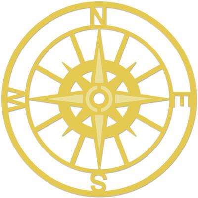 Decorative Die - Compass