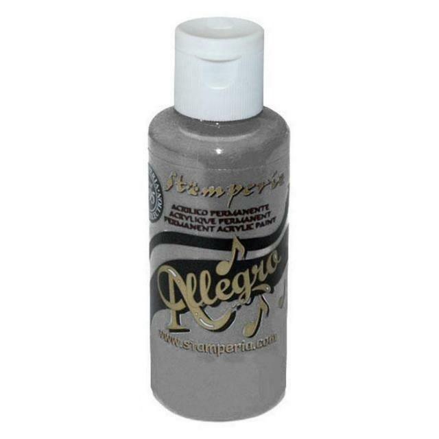 Stamperia Allegro Acrylic Paint - Grey 59ml
