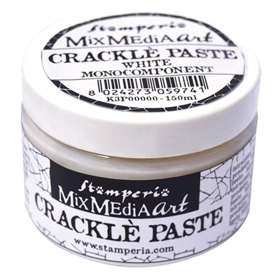 Crackle Paste - White 150ml