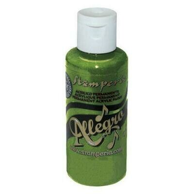 Stamperia Allegro Acrylic Paint - Avocado 59ml
