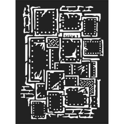 Sea World Steampunk- Thick Stencil 15X20cm