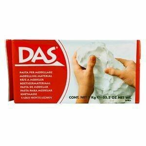 DAS White Air Dry Clay 1kg