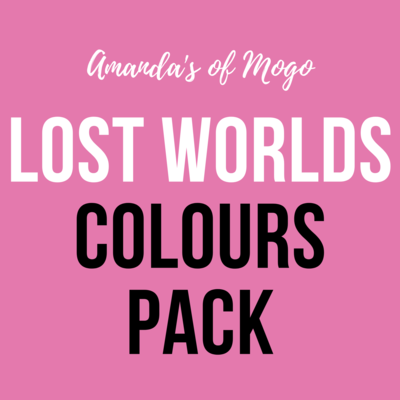 Antonis Tzanidakis' Lost Worlds - Colours Pack