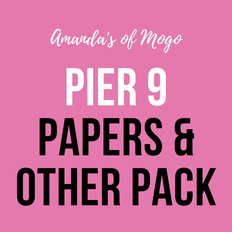 Antonis Tzanidakis' Pier 9 - Papers & Other Pack