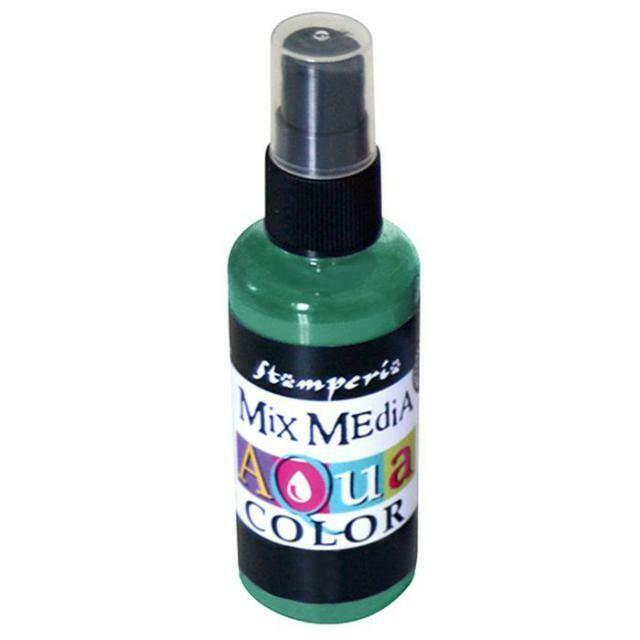 Aquacolour Spray - Dark Green 60ml
