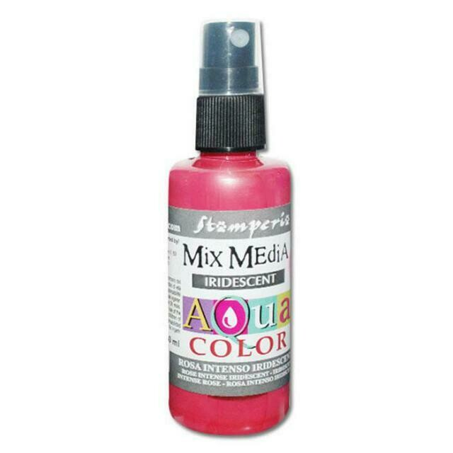 Aquacolour Spray - Iridescent Intense Pink 60ml