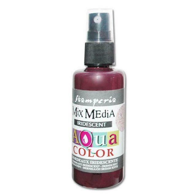 Aquacolour Spray - Iridescent Burgundy 60ml