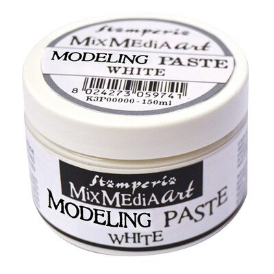 Stamperia - Modeling paste 150ml - White