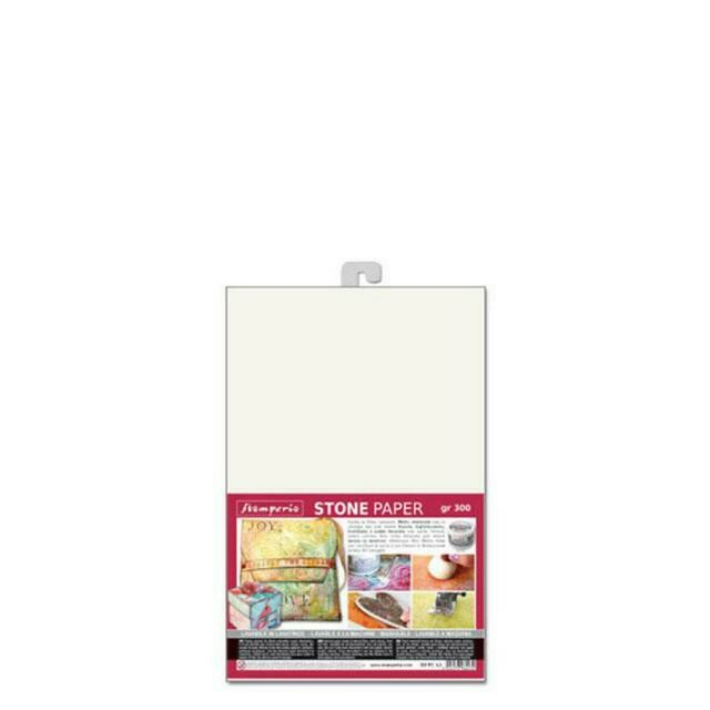 Stamperia Stone Paper A4 - Washable