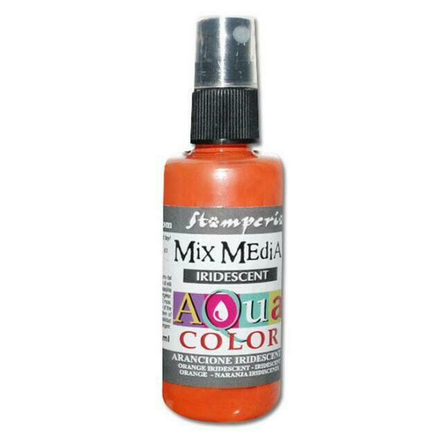 Aquacolour Spray - Iridescent Orange 60ml