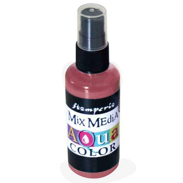 Aquacolour Spray - Mahogany 60ml