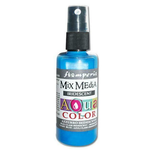 Aquacolour Spray - Iridescent Light Blue 60ml