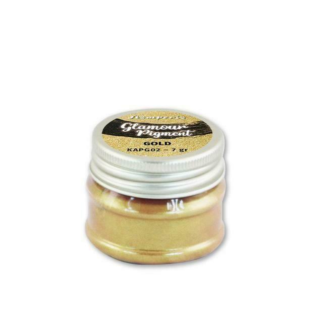 Gold - Glamour Powder Pigment 7gr