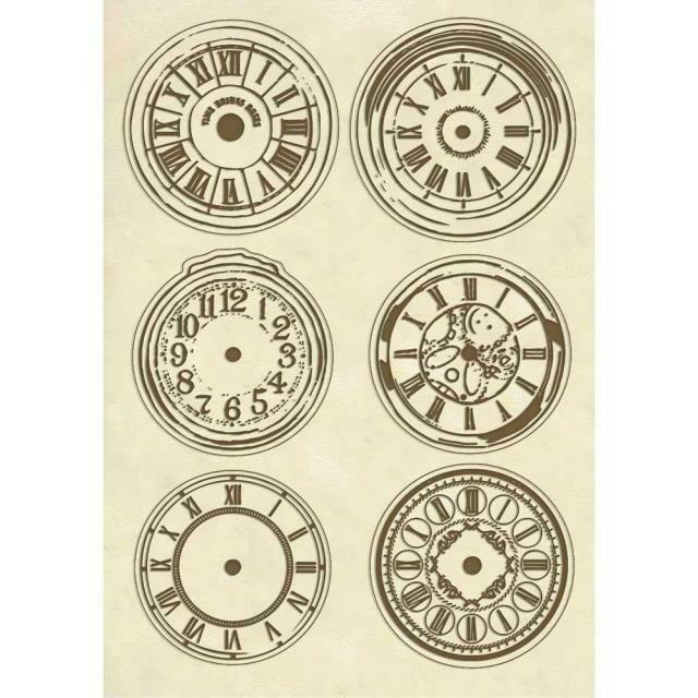 Clocks - A5 Wooden Shapes