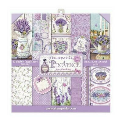 Provence - Stamperia Double-sided Paper Pad 8