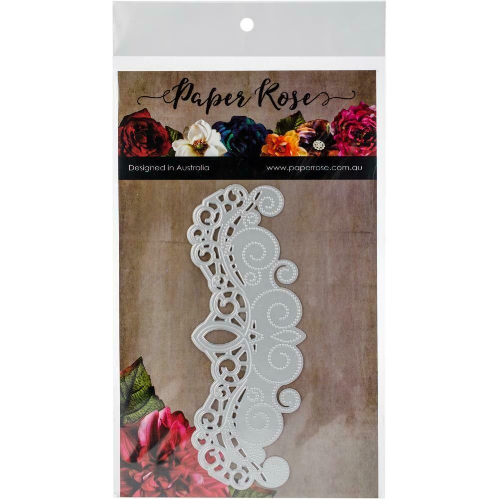 Paper Rose - Ornate Border Die