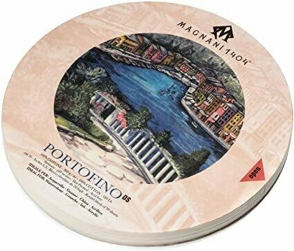 """Magnani - Portofino (Hot Press) 12.6"""" Round Watercolour Block"""