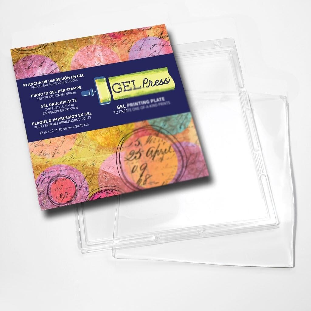"12"" x 12"" Gel Press® Mono Printing Plate"