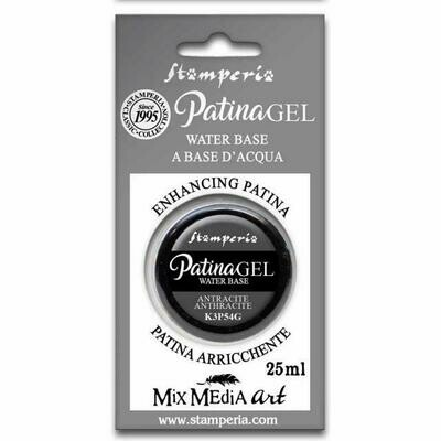 Stamperia Patina Gel - Anthracite 25ml