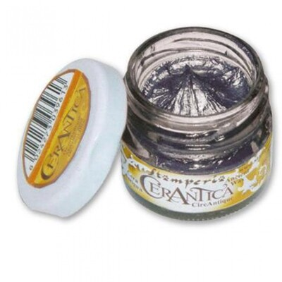 Stamperia Ancient Wax - Black Silver 20ml