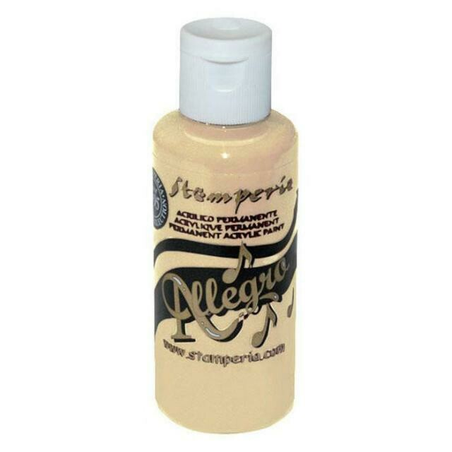 Stamperia Allegro Acrylic Paint - Old Ivory 59ml