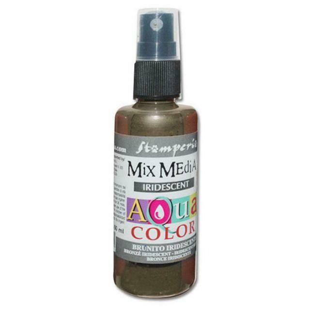 Stamperia Aquacolour Spray - Iridescent Bronze 60ml