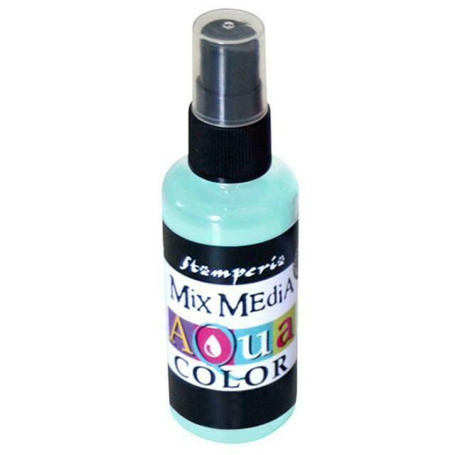 Stamperia Aquacolour Spray - Water Green 60ml