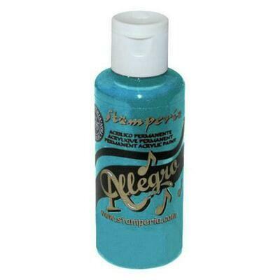 Stamperia Allegro Acrylic Paint - Turquoise 59ml