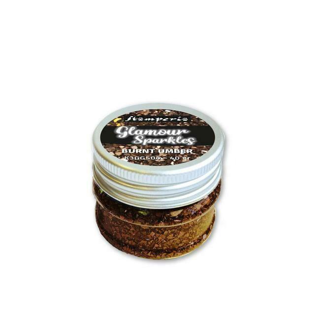 Stamperia Sparkles - Burnt Umber 40g