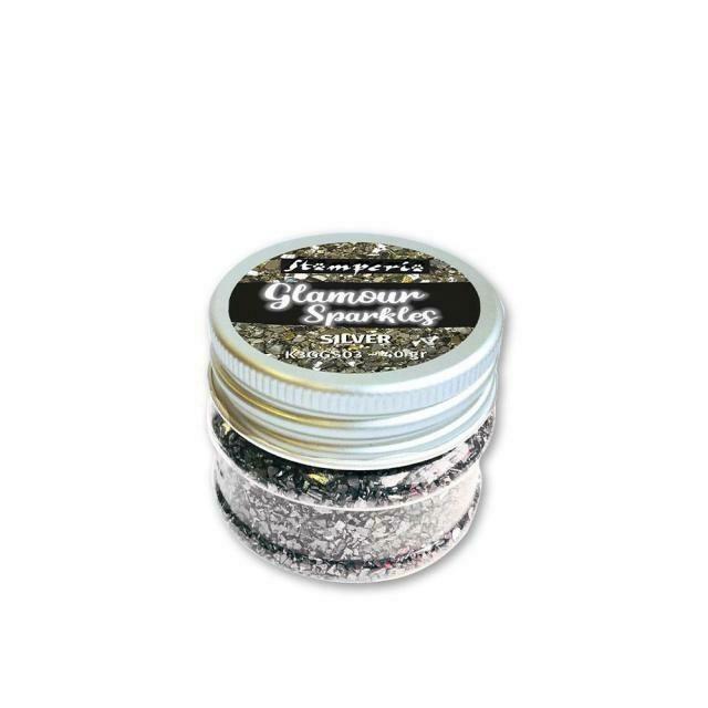 Stamperia Sparkles - Silver 40g